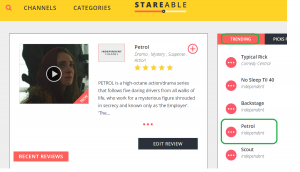 Petrol on Stareable.com