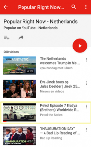 Netherlands YouTube